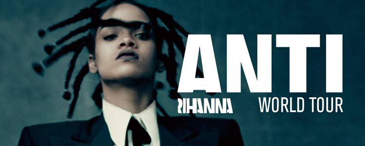 Rihanna - ANTI World Tour (2016)